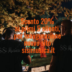 Aperitivo con DJ Musica Sposi sisimusica